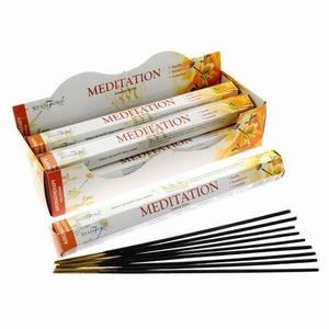 Stamford Hex Aromatherapie Wierook Stokjes - Meditatie