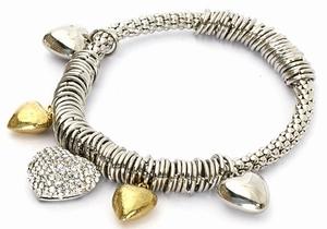 Silver/Gold armband