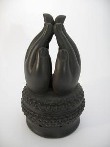 Mediterende handen