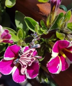 Epoxy Vlinder Roze