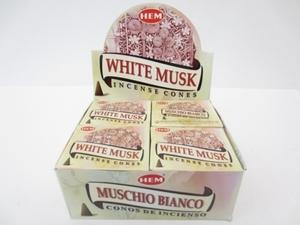 White Musk kegeltjes
