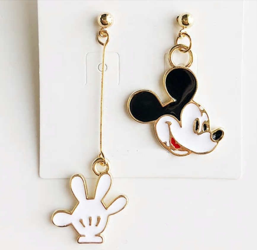 Mickey Mouse oorbellen