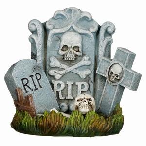 Halloween RIP grafsteen backflow wierookhouder