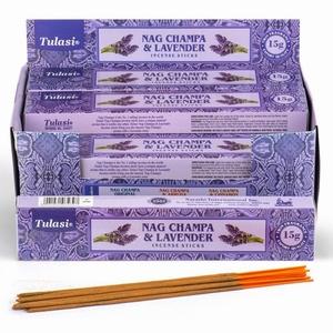 Tulasi Lavendel Nag Champa Wierook Stokjes