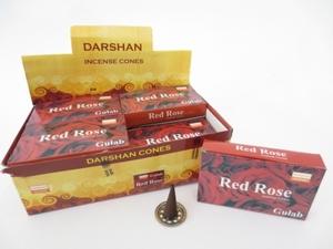 Darshan kegeltjes Red Rose