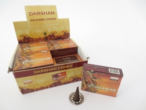 Darshan kegeltjes Cinnamon