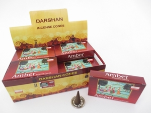 Darshan kegeltjes Amber