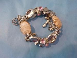 Aparte armband roze